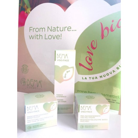Zestaw pielęgnacyjny Bema Love Bio (M2) do cery mieszanej lub tłustej