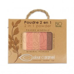 Puder mineralny 2w1 Couleur Caramel
