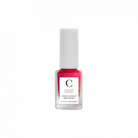 Couleur Caramel lakier matowy fuksja różowa