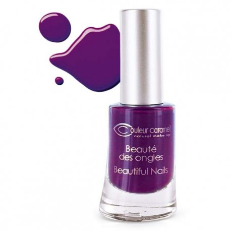 Couleur Caramel Lakier do paznokci, Electric plum