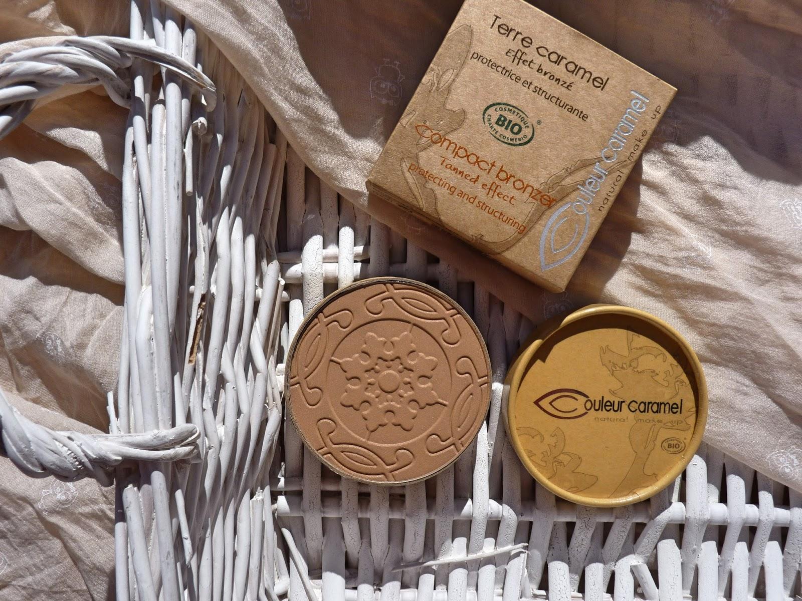 couleur caramel kosmetyki naturalne bronzer